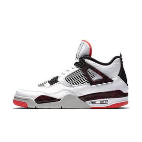 Air Jordan 4 AJ4 兔八哥 大理石热熔岩白红 308497-116(2019.3.2日发售)