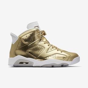 "Air Jordan 6 Pinnacle ""Metallic Gold"" 854271-730"