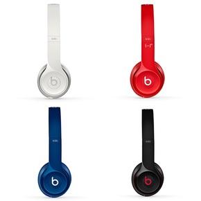 Beats Solo2 通用重低音音乐耳麦 耳机头戴式 有线版