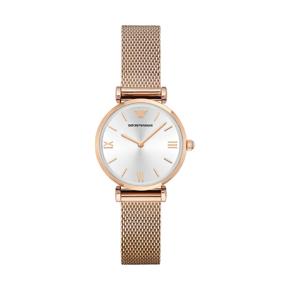 阿玛尼(Armani)手表 时尚休闲简约石英女士手表钢带