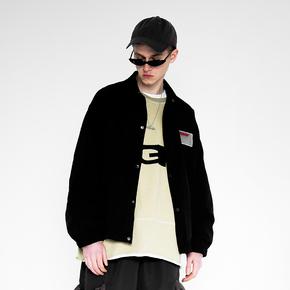 【2GUNS】2019SS潮牌上衣嘻哈三色后背印花教练夹克