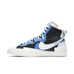 Nike x sacai Blazer 联名解构板鞋 黑蓝 BV0072-001(2019.4.19发售)