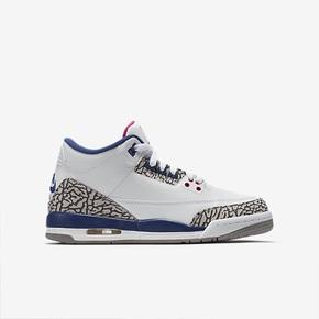 """优惠大放送!Air Jordan 3 GS""""Ture Blue"""""""
