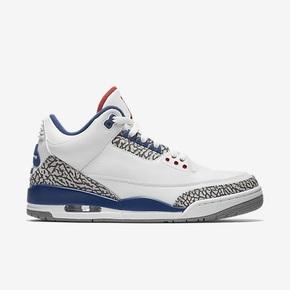 优惠大放送!Air Jordan 3 Ture Blue 白蓝
