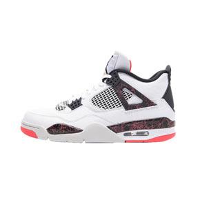 香港直邮特惠!Air Jordan 4 AJ4 兔八哥 大理石热熔岩白红 308497-116