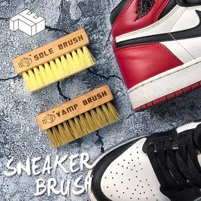 赤蚁洗鞋神器 AJ球鞋洗护 翻毛皮干洗鞋刷清洁鞋刷子 猪鬃软毛 鞋面刷
