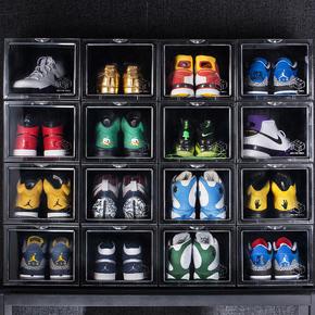 赤蚁球鞋收纳盒 AJ篮球鞋鞋盒高端收藏展示鞋柜球鞋收藏鞋墙防潮