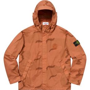 Supreme x stone island riot mask camo jacket