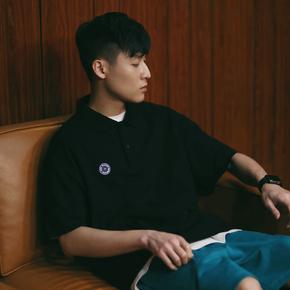 PSO Brand 19SS3 POLO黑白绿三色选择舒适休闲港风短袖男女T恤