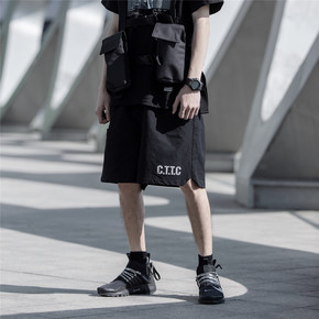 CATSSTAC 19SS三色透气运动反光短裤