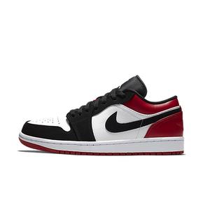 Air Jordan 1 Low AJ1黑脚趾低帮 黑白红