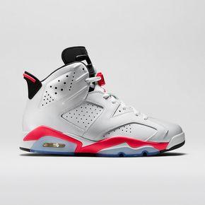 "断码特惠!Air Jordan 6 ""Infrared"" 384664-123"