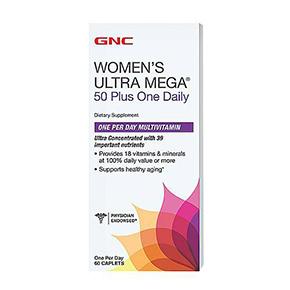 GNC Women's Ultra Mega(R) 50 Plus One Daily