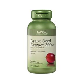 GNC 健安喜 Grape Seed Extract 葡萄籽精华 保健品 300mg*100粒