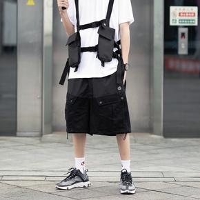 CATSSTAC 19SS 户外双拉链多口袋短裤