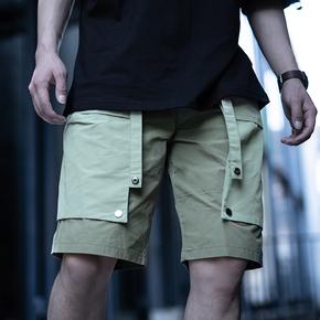 killwinner 19SS 可拆卸口袋双色短裤