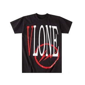 VLONE X FRAGMENT 藤原浩联名 Logo闪电短袖T恤