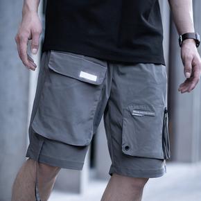 killwinner 19SS 夏季飘带双色短裤
