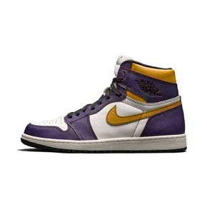 "Nike SB x Air Jordan 1  OG ""Court Purple""湖人刮刮乐 CD6578-507(2019.5.25发售)"