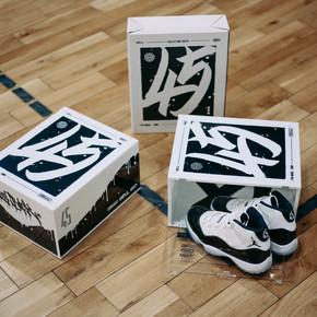 DBRukia x AJ11 CONCORD 限量 球鞋收纳盒