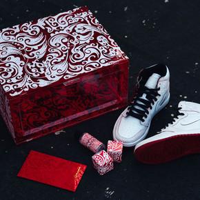 DBRukia x US8新年限定 限量 球鞋收纳盒