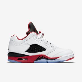 "断码特惠!Air Jordan 5 Low ""Fire Red"" 819171-101"