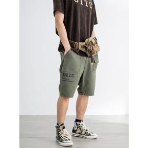 OITC 19SS 三色工装短裤