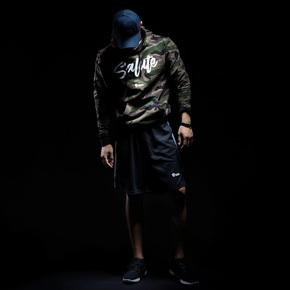 Monster Guardians 勇士系列秋冬运动健身潮流迷彩连帽卫衣套头衫 (21)251770 A08010