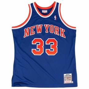 Mitchell&Ness Swingman NBA 复古球衣 尤因 纽约33号蓝色
