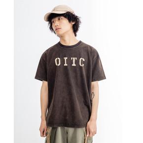 OITC 19SS 炒纱水洗短袖