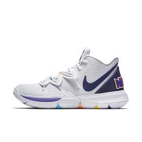 Nike Kyrie 5 欧文5笑脸炫彩 男子实战篮球鞋 AO2919-101