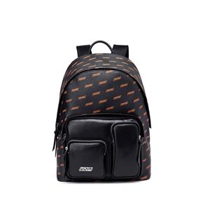 OMTO 女款双肩包女包休闲潮流时尚百搭便携旅行包学生书包背包