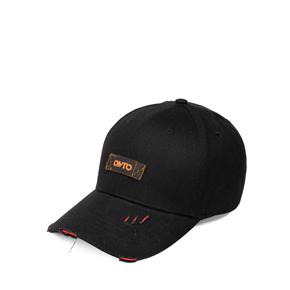 OMTO 帽子女棒球帽韩版时尚鸭舌帽潮配冬帽女潮流运动女帽