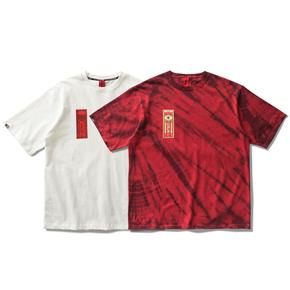 OSCill safflower oil 红花油 讽刺与治疗现状 中国风扎染短袖T恤