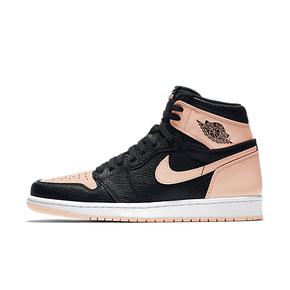 Air Jordan 1 AJ1 脏粉 黑粉脚趾 篮球鞋 555088-081