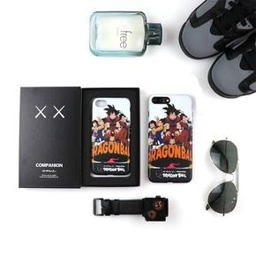 【定制】KAWS X 七龙珠 软硅胶手机壳 for iPhone6/7/PLUS