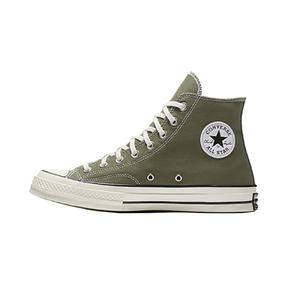 Converse匡威1970s三星标 军绿高帮帆布鞋男女162052C