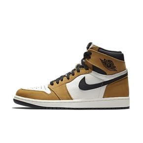 测试!境外预售!Air Jordan 1 AJ1新秀 黄麂皮 篮球鞋 555088-700