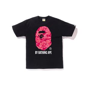 BAPE 火焰迷彩大猿人头T恤 男款