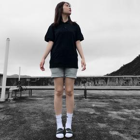 NOT TO EXCEED春夏新品220克纯棉POLO衫保罗短袖翻领纯色宽松T恤