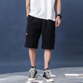 GZKHCOM口袋工装短裤立体多袋街头 国潮原创休闲夏季五分直筒街头