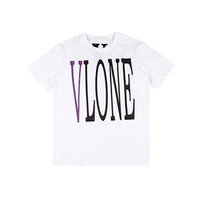 Vlone 亚洲Pop Up 限定短袖T恤 紫V白色