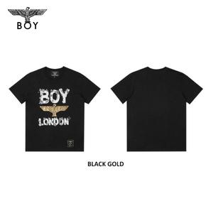 韩国直邮 !BOYLONDON 韩版时尚 圆领休闲短袖青少年学生T恤