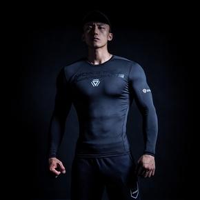 Monster Guardians MSGD终极科技系列隐黑科技健身长袖压缩衣紧身(21)251630 A08004 9A02/3/4/5