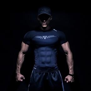 Monster Guardians MSGD终极科技系列隐黑科技健身短袖压缩衣紧身(21)251630 A03003 9A03/4/5