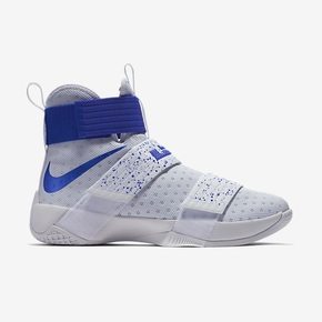 Nike LeBron Soldier 10 白蓝泼墨 844375-164