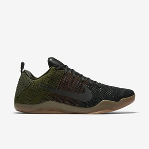Nike Kobe XI Elite Low 4KB 黑绿 824463-063