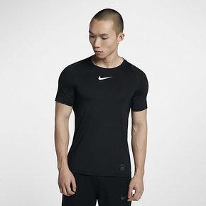Nike耐克男装 新款正品健身训练运动紧身短袖T恤 838094-010