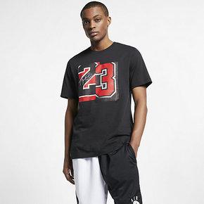 NIKE耐克2019夏季款男子透气短袖运动休闲体恤圆领半袖T恤AQ4109-010