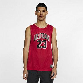 NIKE DNA AIR JORDAN 23号AJ男子透气运动休闲篮球背心AJ1141-687